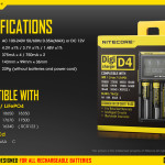 NITECORE DigiCharger D4 Review: AKA The Best 18650 Battery Charger