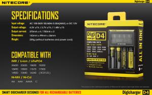 NITECORE DigiCharger D4