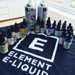 Element E-Liquid Review: Dripper Series, Emulsions, FAR & Tonix!!