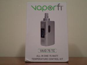 VaporFi VAIO 75 TC Box Mod Review