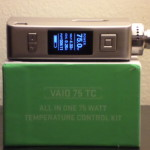 VaporFi VAIO 75 TC Box Mod Review: The Complete Package