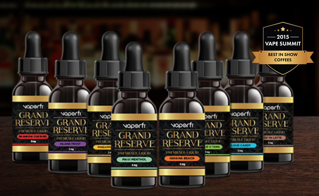 VaporFi Grand Reserve E-Juice Review: Lovely, Premium E-Liquid