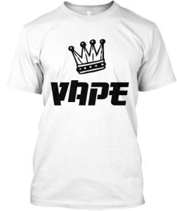 Vape King T-Shirt white