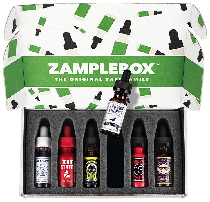 ZampleBox E-Juice Review: The Best E-Juice Delivery Service