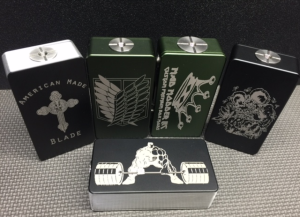 Duke SX Stabwood Edition box mod by Vicious Ant, AKA the world's MOST EXPENSIVE box-mod