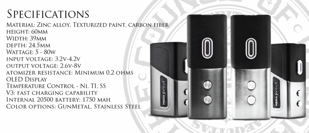 Council of Vapor Voyager 80W TC Starter Kit