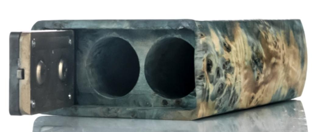 Project Sub-Ohm Jester Stabilized Wood DNA 167 Box Mod