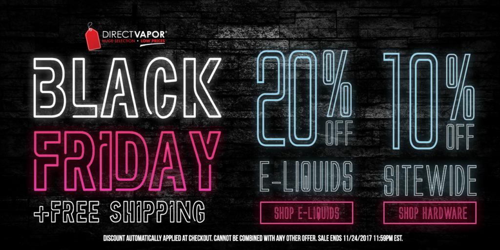 Best Black Friday Vape Deals