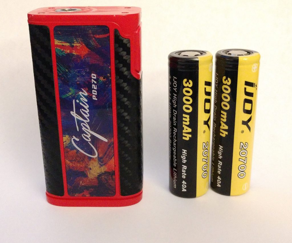 iJoy Captain PD270 Mod Review | Dual 20700 Cells = INSANE Battery Life