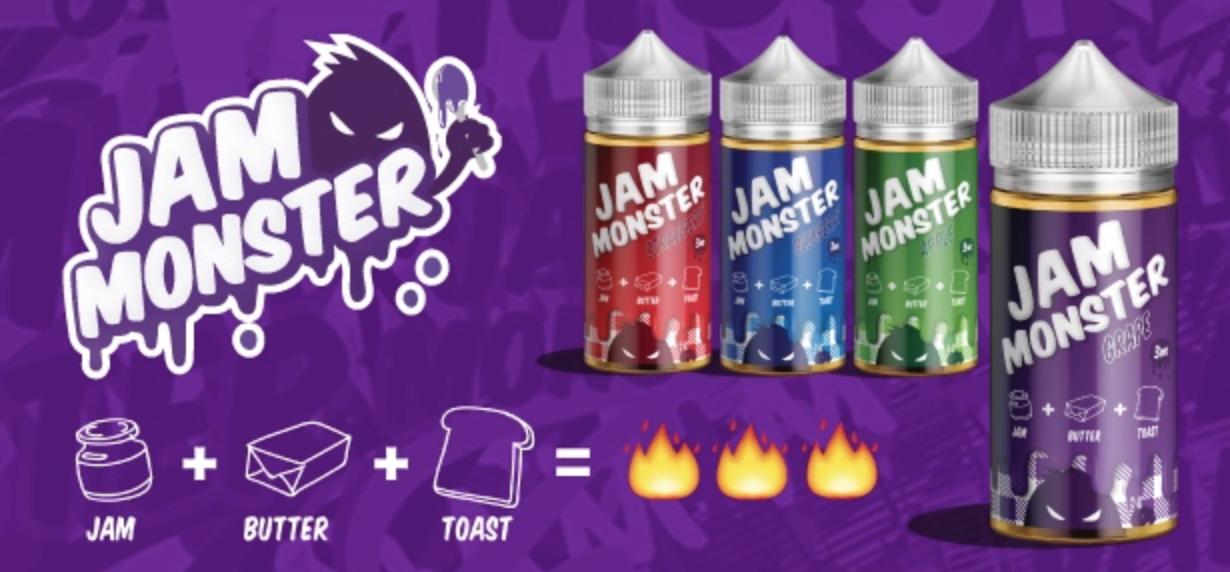 Jam Monster E Liquid