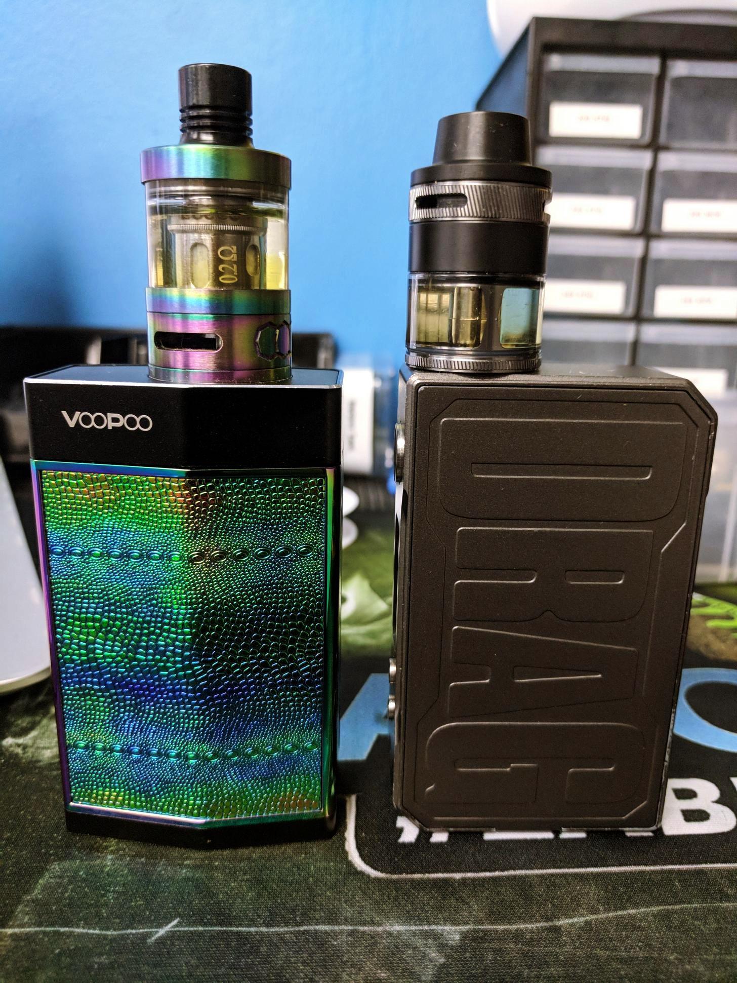 voopoo drag vs voopoo too 2