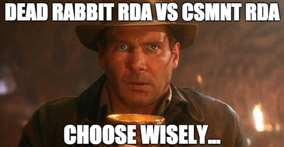 Dead Rabbit RDA vs CSMNT RDA