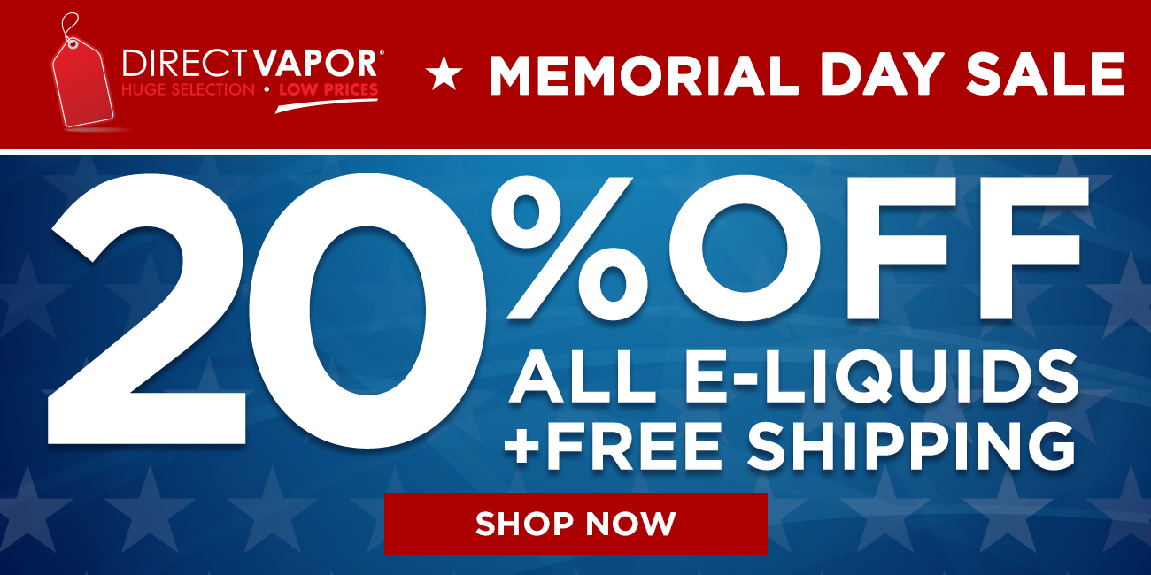 Vape Deals: Obligatory Memorial Day Sales Post (My #1 Picks)