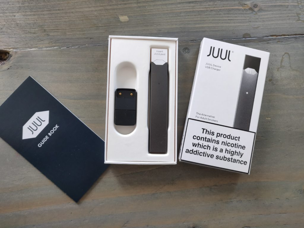 How To Set Up JUUL For The First Time: A Helpful Illustrated
