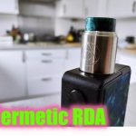 Hermetic RDA Review | Restricted Lung Hit + DENSE Flavor