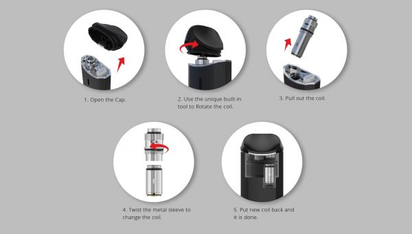 Vaporesso NEXUS user manual