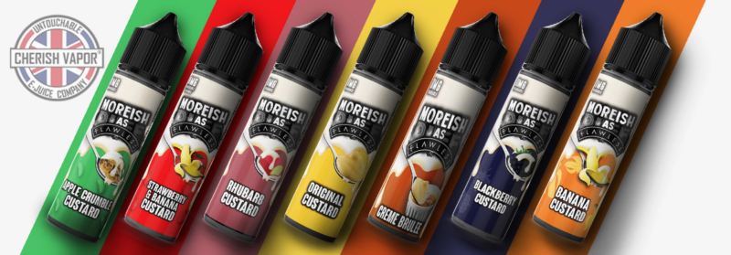 Moreish Puff E Juice Review