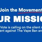 #WeVapeWeVote – We Need 1,000,000 Signatures RIGHT NOW!