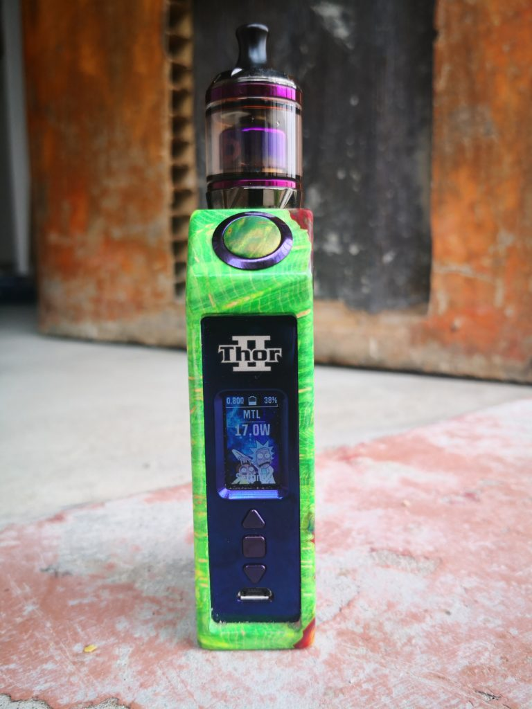 Asmodus Ultroner Thor II Review: FINALLY! An Affordable DNA Mod