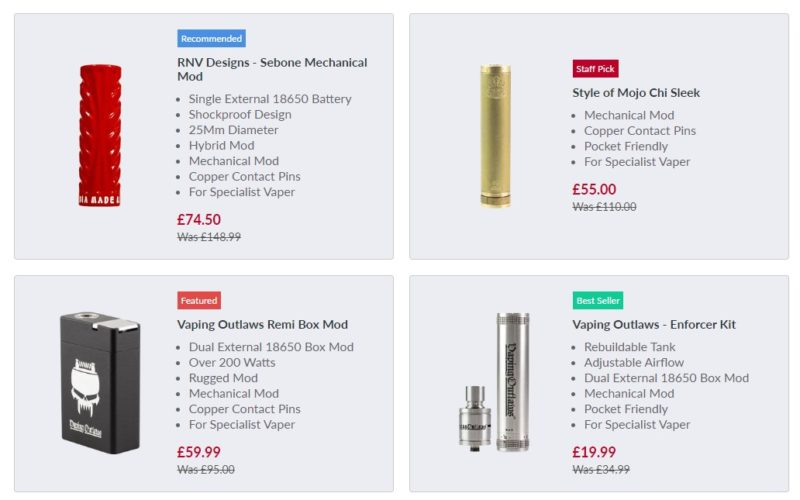 Cheap Mech Mods? You Need To See THIS Sale – It's INSANE!