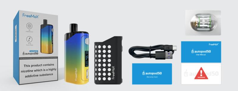 "Freemax Autopod50 Preview: ""Double Mesh"" Pod Vape"