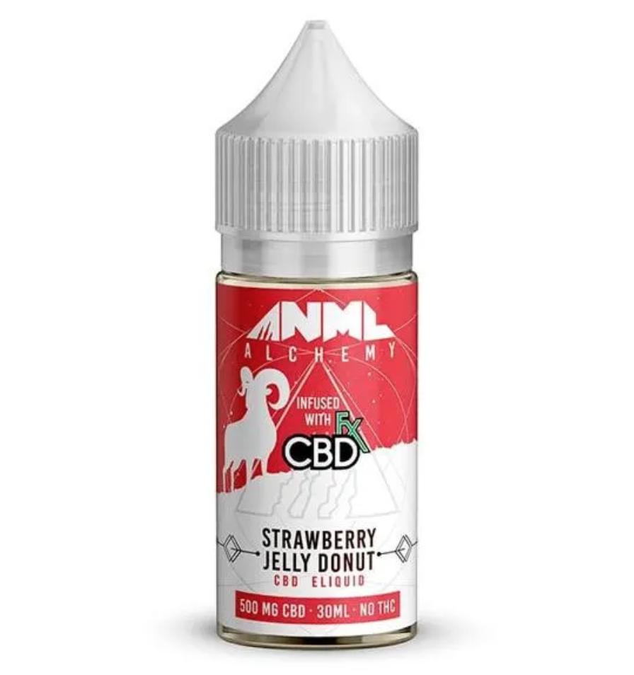 ANML Alchemy Jelly Donut CBD Vape Juice