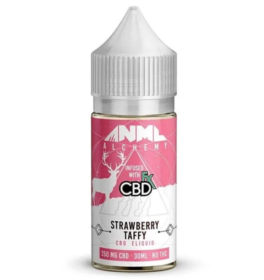 ANML Alchemy Strawberry Taffy CBD Vape Juice