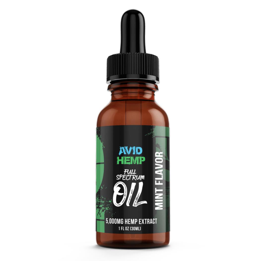 AVID HEMP Peppermint CBD Oil (5000MG)