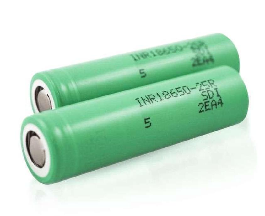 Samsung 25R 18650 2-Pack Vape Batteries