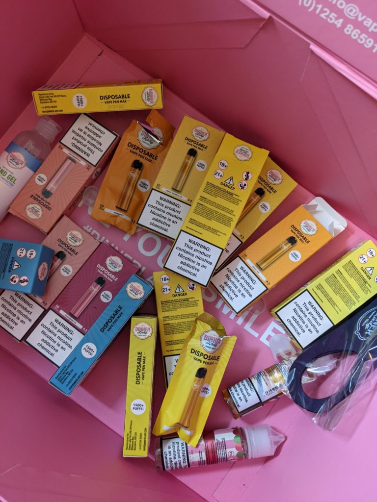 Dinner Lady Vape Pen Max Review: Big Flavors, Lots of Puffs…