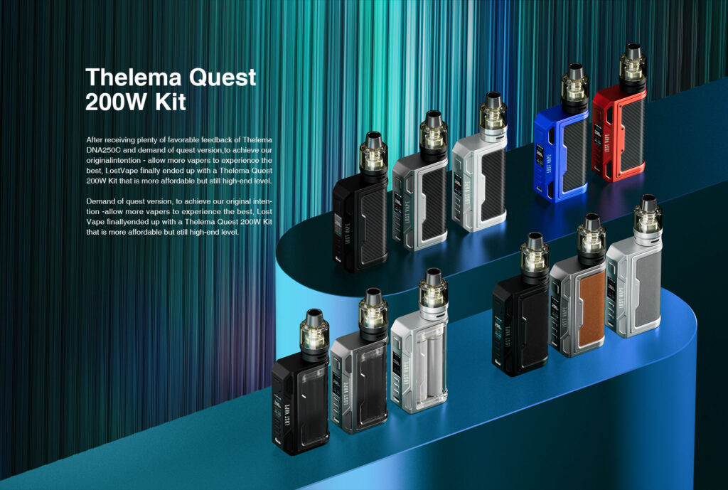 Lost vape thelema quest