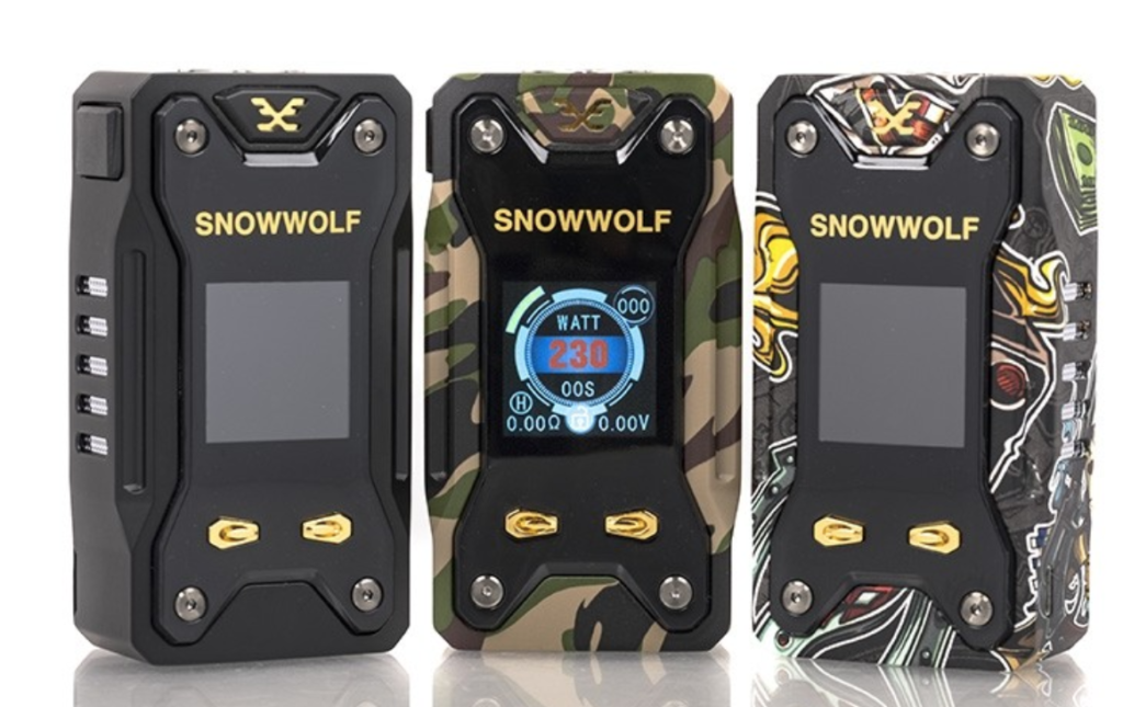 SnowWolf Mods: 100% The Best Quality (Cheap) Vape Mods Around